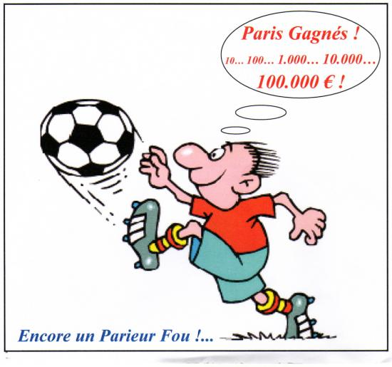 Connais-tu le site internet LES PARIEURS FOUS ?