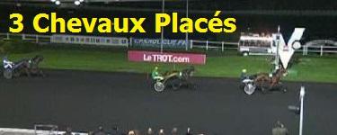 Chevaux places