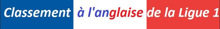 Classement a l anglaise