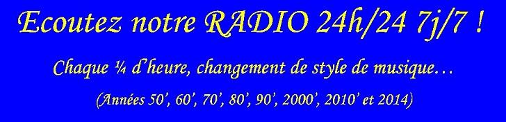 Ecoutez notre radio