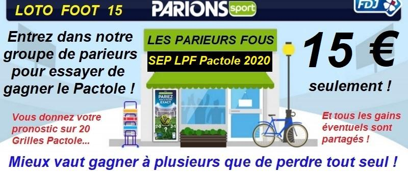 Sep lpf pactole 2020 affiche
