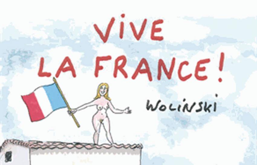 Vive la france wolinski