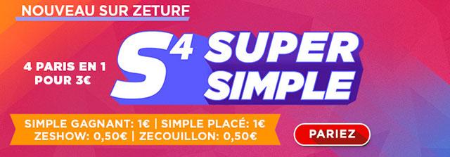 Zeturf s4 super simple